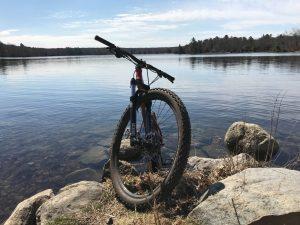lake bike