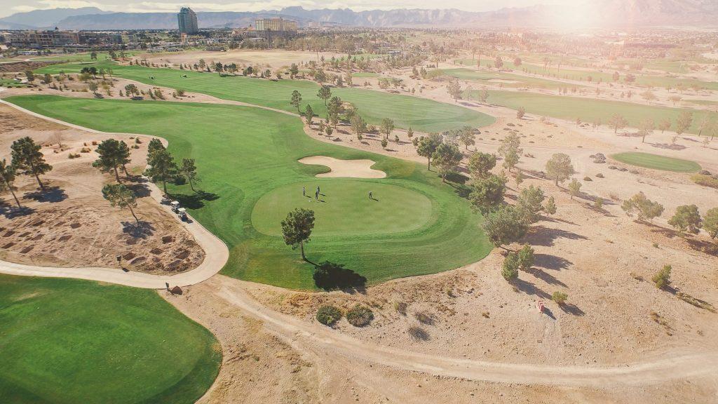 golf field grass