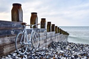 bicycle on the sea