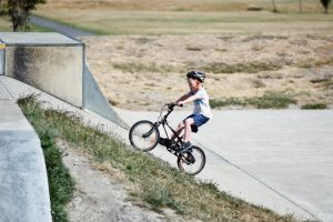 mountain bike kids struggle