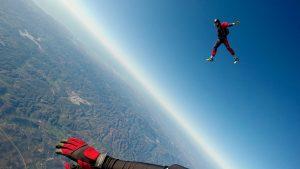 skydiving technique