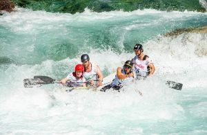 rafting race