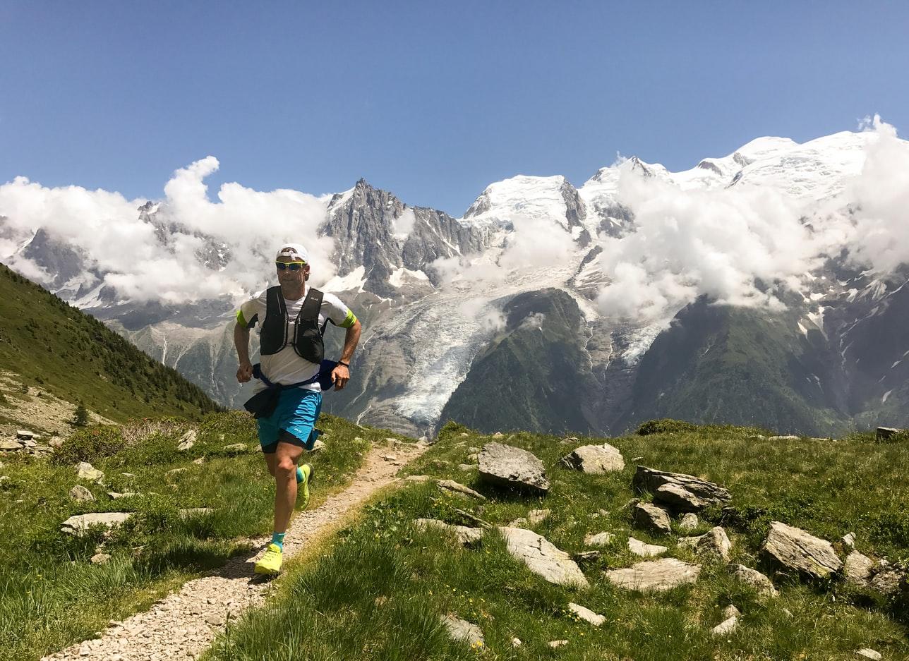 trail runner mountain
