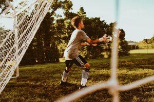 kid goalkeeper