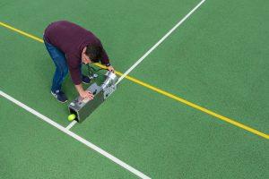 serving tennis ball tech